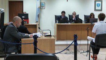La médica forense, Eliana Bevolo, prestó testimonio durante la tercera jornada del juicio.