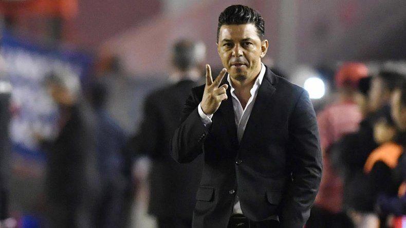 Marcelo Gallardo cumplirá hoy 200 partidos al frente del Millonario.