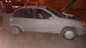 Secuestraron un Chevrolet Corsa con el chasis adulterado