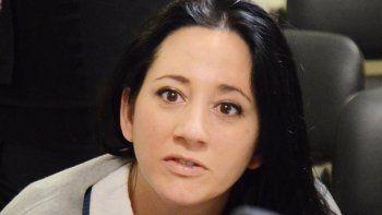 Por decisión de dos jueces Nadia Kesen cumple desde ayer prisión preventiva en la alcaidía policial.