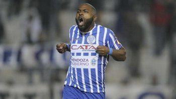 Santiago García, el goleador de Godoy Cruz de Mendoza.