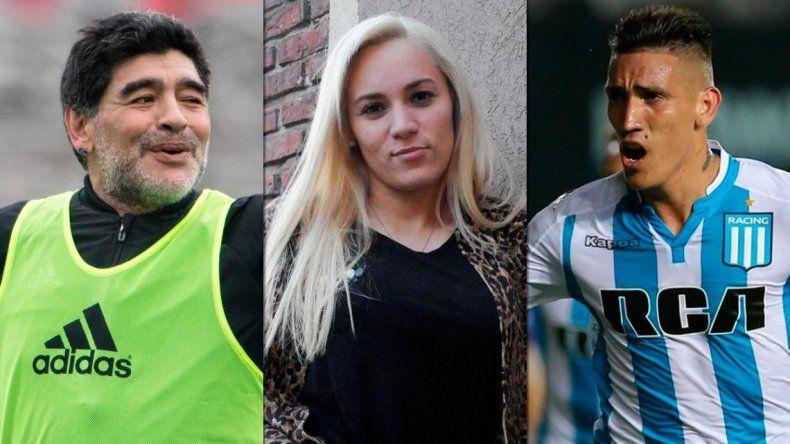 El Chino Maradona confirmó que Rocío Oliva le fue infiel a Diego con Centurión
