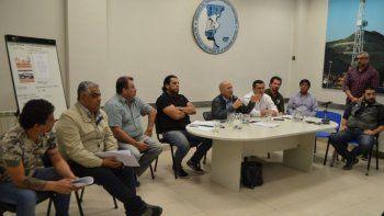 El plenario de delegados que se realizó ayer en Comodoro Rivadavia.