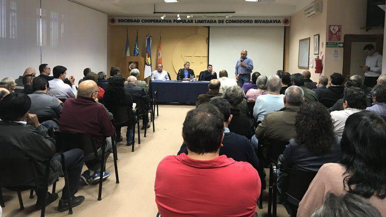 La mesa de conducción de la SCPL brindó un informe a los delegados