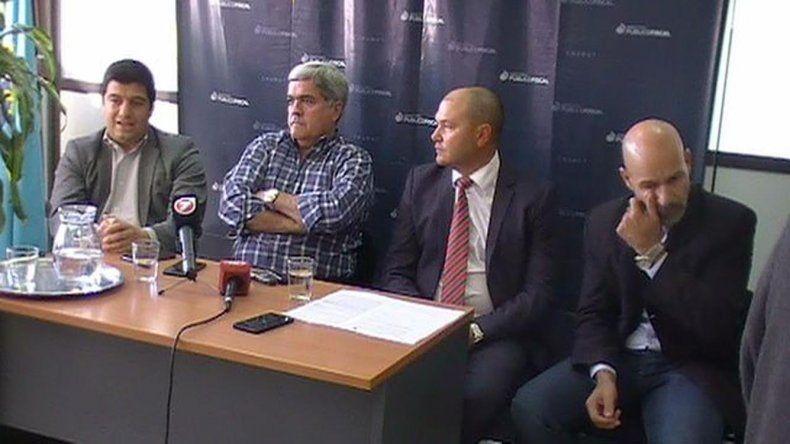 La conferencia de prensa que ofreció ayer en Trelew el Ministerio Público Fiscal