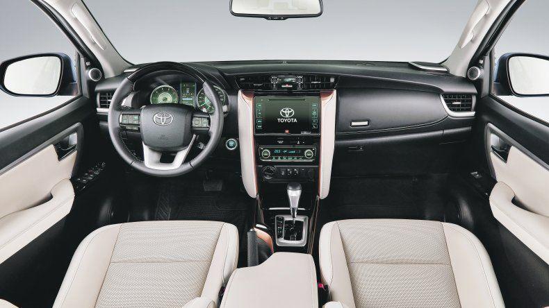 Toyota SW4 Diamond: SUV nacional de lujo