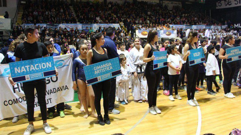 La gala del deporte de Comodoro Rivadavia fue todo un éxito en el Socios Fundadores.