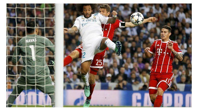 Real Madrid sufrió pero es finalista