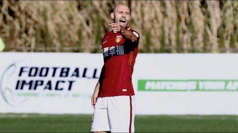 Mascherano convirtió un gol pero Hebei Fortune fue eliminado de la Copa China