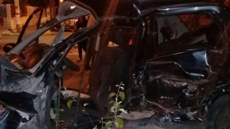 Una mujer está grave tras accidentarse en Kilómetro 8