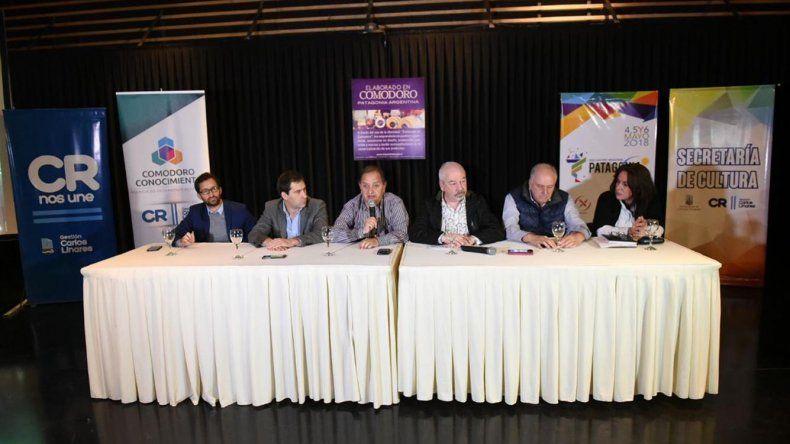 La conferencia de prensa de presentación del encuentro.