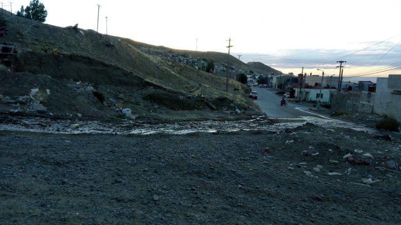 Anoche se detectó una rotura y esta mañana cortaron el agua