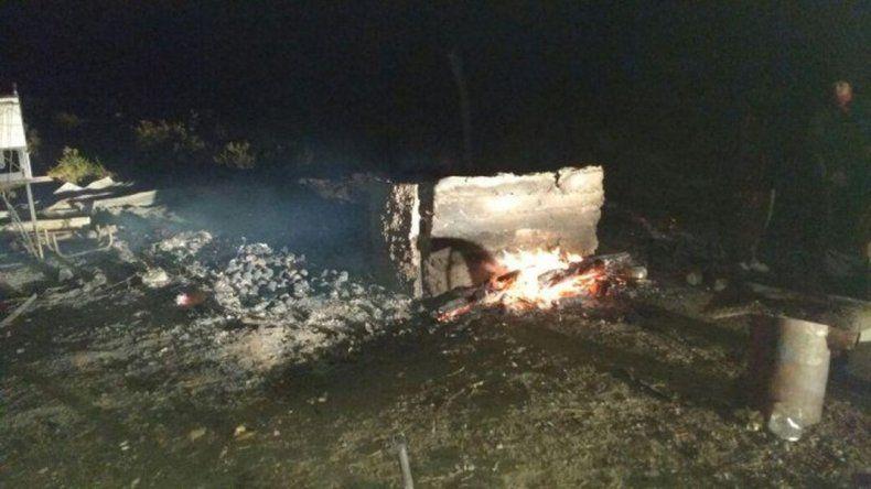 Denuncian quema de la guardia donde se vio por última vez a Santiago Maldonado