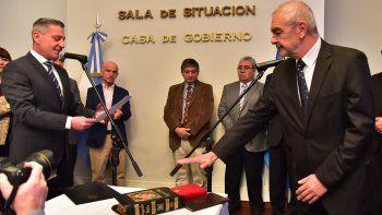 Chicala asumió como nuevo ministro de Infraestructura