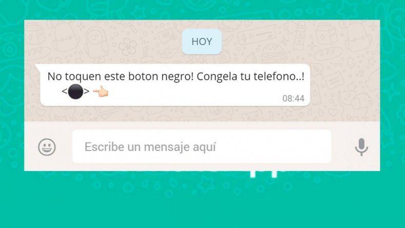 El botón negro de WhatsApp: ¿de qué se trata y por qué te cuelga el teléfono cuando lo tocás?