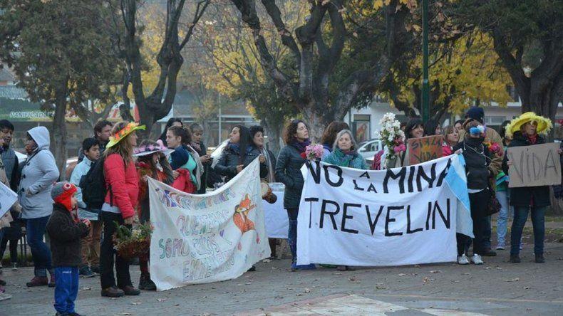 En Esquel marcharon contra el proyecto de zonificación minera