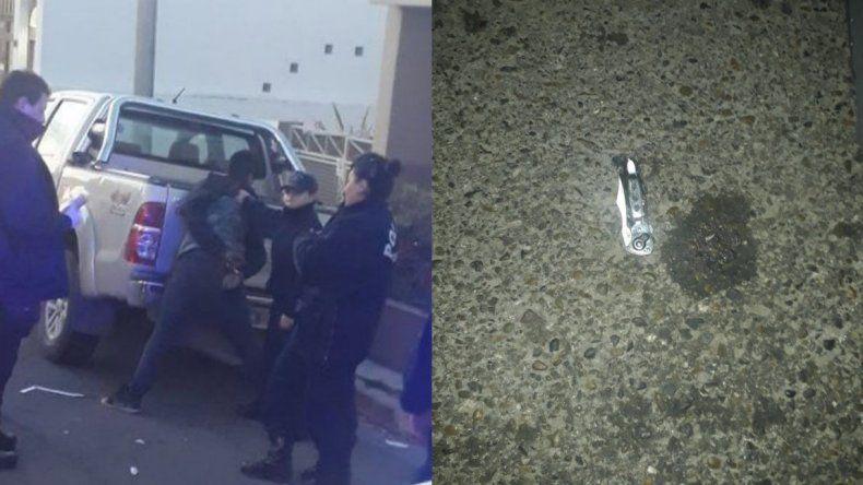 Adolescente armado con una navaja intentó robarle a una mujer