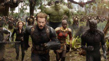 Avengers: Infinity War se convierte en la cuarta película en recaudar 2 mil millones de dólares