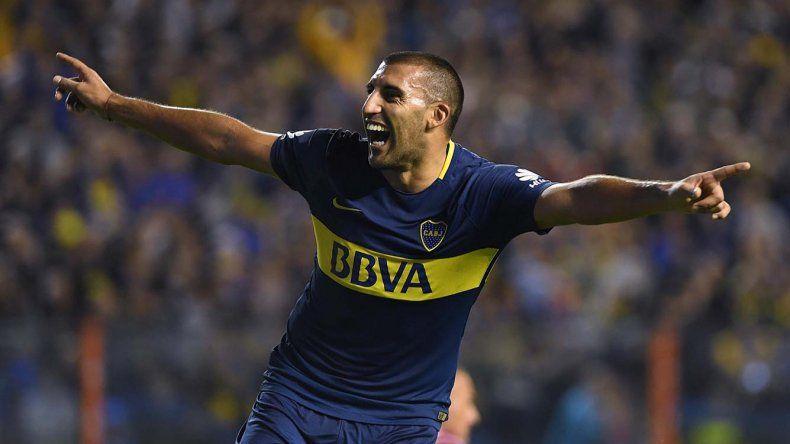 Ramón Abila viene de marcar los dos goles con el que Boca le ganó el domingo a Unión.