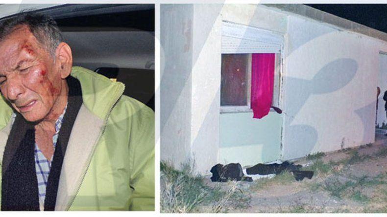 Atacaron a garrotazos a un hombre que le faltan las dos piernas