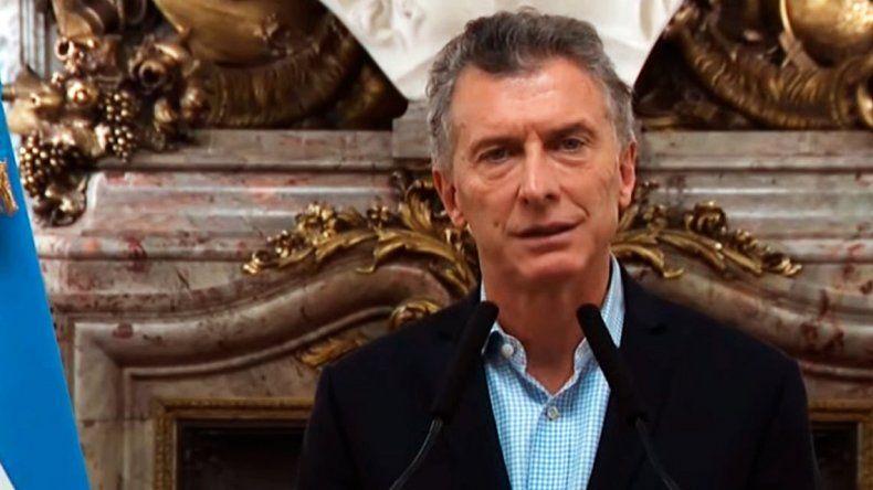 Mauricio Macri: he iniciado conversaciones con el Fondo Monetario