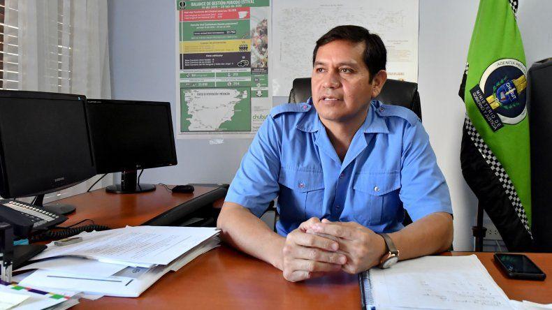 Víctor Veloso es el nuevo director de la Agencia Provincial de Seguridad Vial