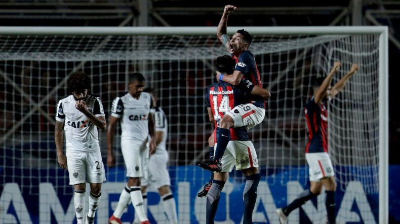 San Lorenzo cerró una semana perfecta con la clasificación ante Atlético Mineiro