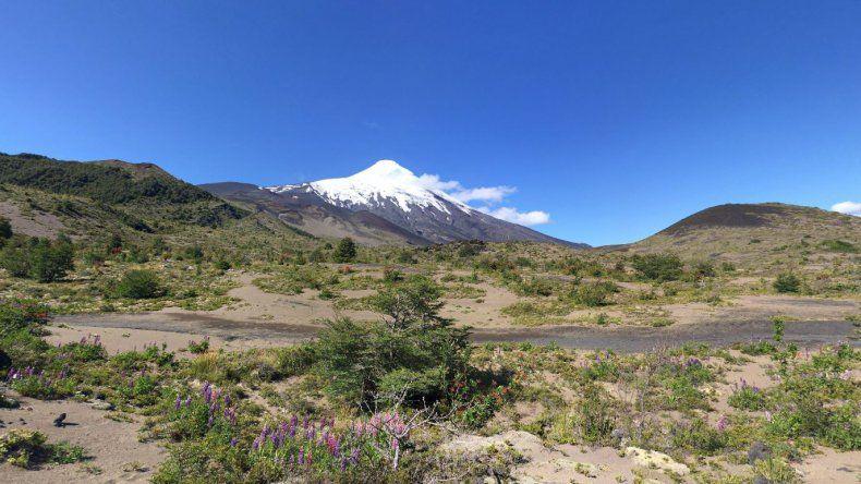 Declaran el alerta amarilla por la actividad del volcán Osorno