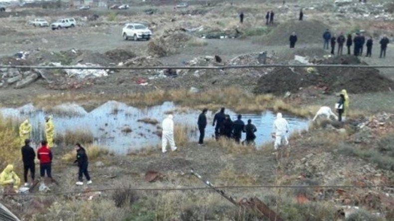 El cuerpo del joven universitario fue hallado semisumergido en una laguna encerrada en una cantera