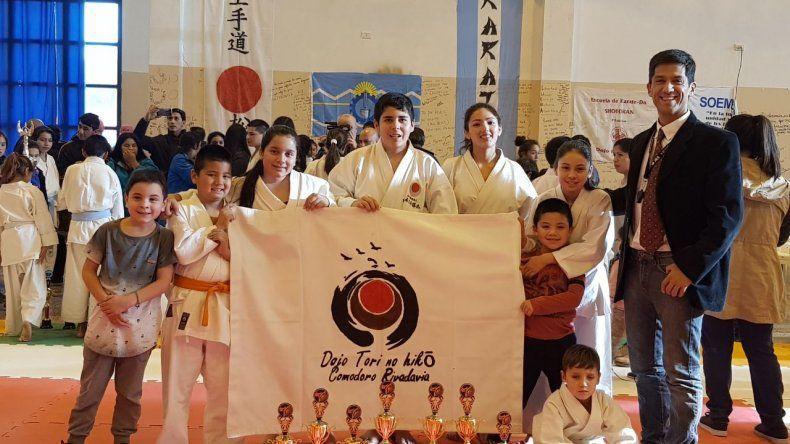 La escuela de Karate Do Shotokan representó a Comodoro Rivadavia de la mejor manera en la cordillera.
