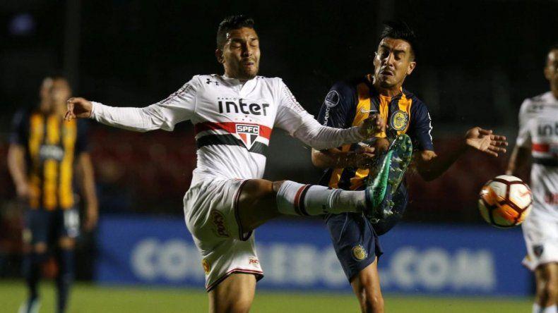 Rosario Central se quedó fuera de la Sudamericana al caer ante San Pablo