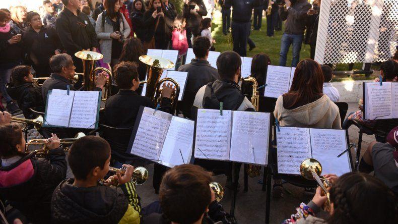Con un acto conmemoraron el Día del Himno Nacional Argentino
