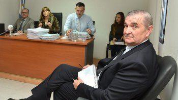 Marcelo Srur al comparecer ante la jueza federal de Caleta Olivia, Marta Yáñez.