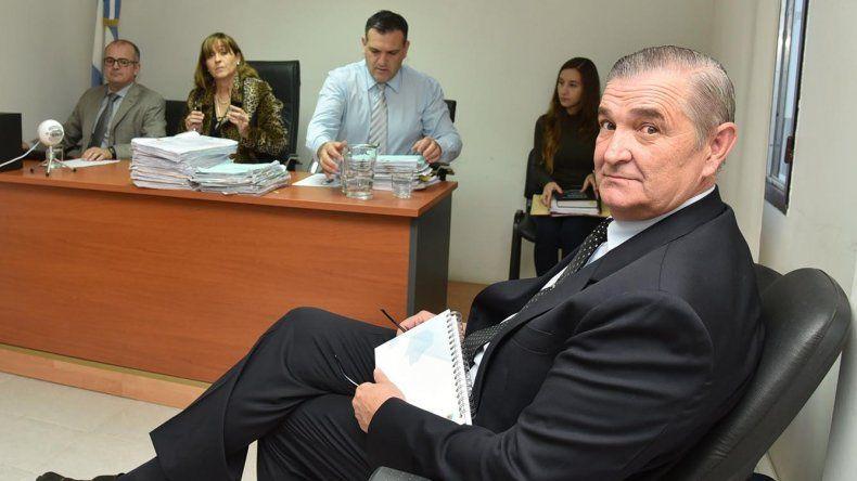 Marcelo Srur al comparecer ante la jueza federal de Caleta Olivia