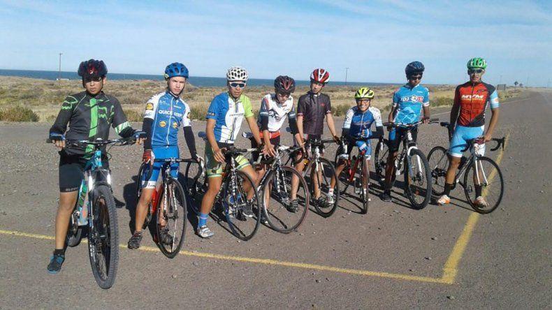 El equipo de ciclismo provincial está listo para competir en los Juegos Epade.