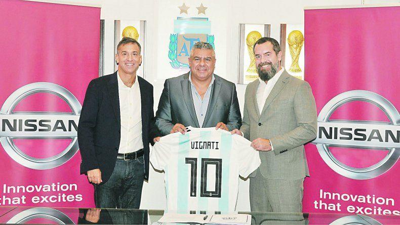 Desde Japón llegó el sponsor oficial de la Selección Argentina