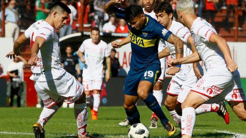 Boca despejó sospechas y complicó a Huracán para la Libertadores 2019