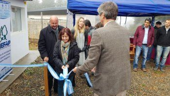 En Esquel se inauguró un laboratorio de producción de hongos comestibles.
