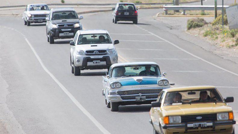Los autos clásicos retomaron la acción.