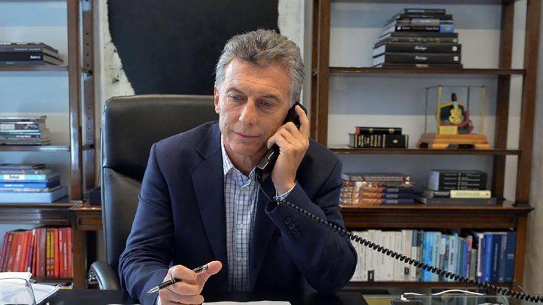 Mauricio Macri mantuvo ayer una conversación telefónica con Mariano Rajoy.