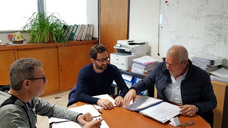 Chicala se reunió con Boyero y evaluaron la ejecución de obras públicas