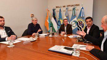 Arcioni y ministros de Producción de la Patagonia reunidos para gestionar ante Nación