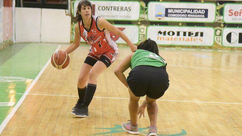 Petroquímica derrotó 47-40 a San Martín de Esquel por la categoría Primera Femenino.