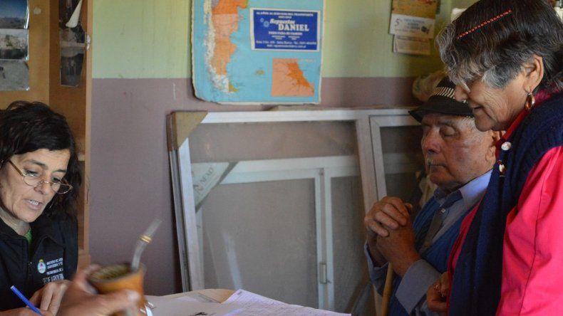 Ruth Guerrero es una de las cinco profesionales del SAF despedidas en Chubut.