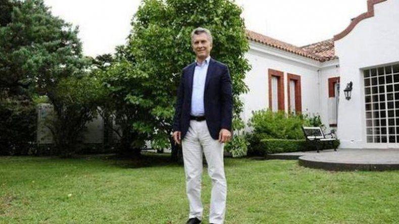 Macri brindará una conferencia de prensa desde Olivos
