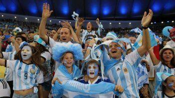 ¿cual es la cancion oficial de la hinchada argentina para el mundial?