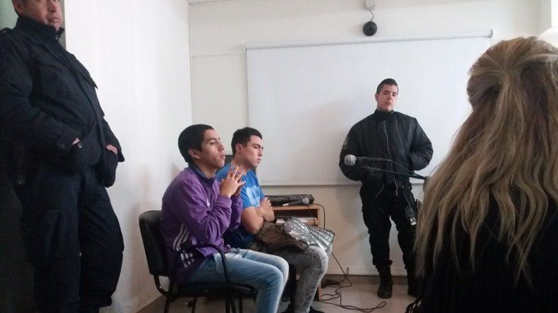 La Fiscalía reunió pruebas en contra de Carlos Navarro y Diego González durante los reconocimiento positivos que se realizaron ayer. Alcaina hijo podrá salir a estudiar.
