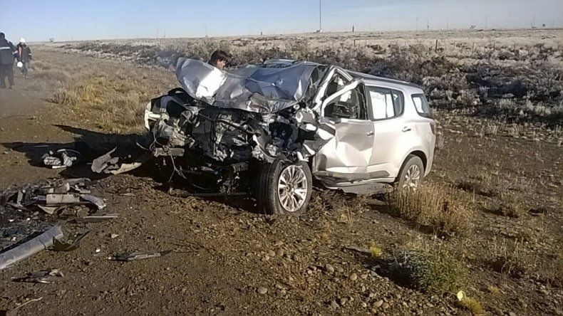 Alicia Silva fue rescatada entre los hierros retorcidos de la Chevrolet Trail Blazer con múltiples fracturas y ayer a la madrugada falleció en el Hospital Regional.
