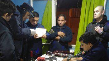 Los allanamientos que desarrolló la policía, en los que incautó dos revólveres.