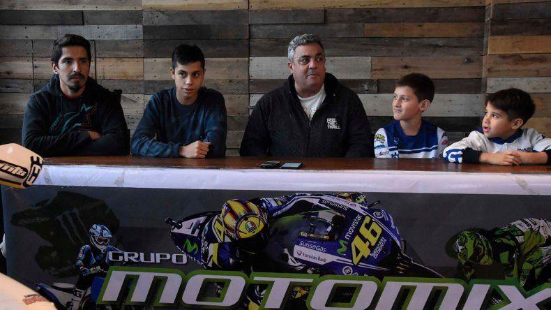 La conferencia de prensa contó con la participación de pilotos y dirigentes del MX Patagonia.